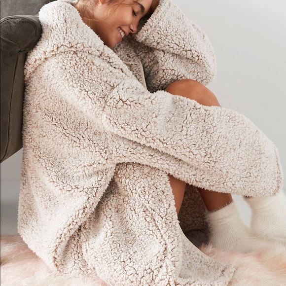 Urban Outfitters Jackets Coats Iso Uo Shaila Oversized Fuzzy